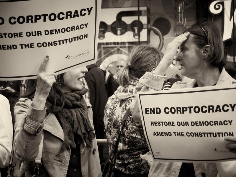 PA152148  #Occupy Wall Street b&w