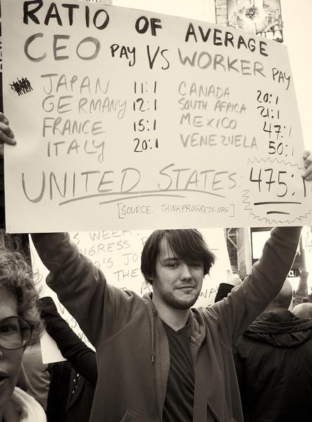 PA152132  #Occupy Wall Street b&w
