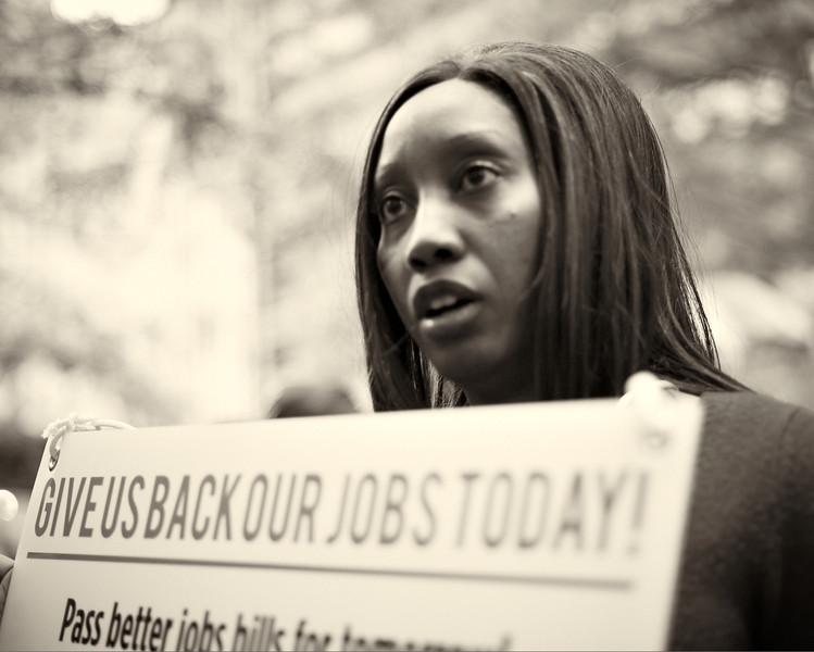 CF009281  #Occupy Wall Street b&w