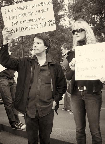 PA152064  #Occupy Wall Street b&w