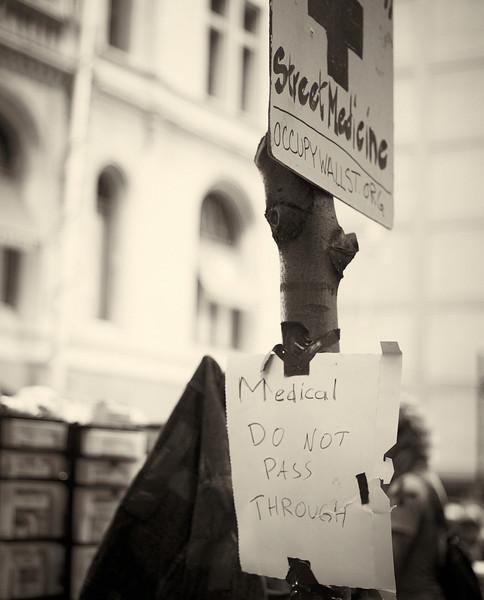 CF009192  #Occupy Wall Street b&w