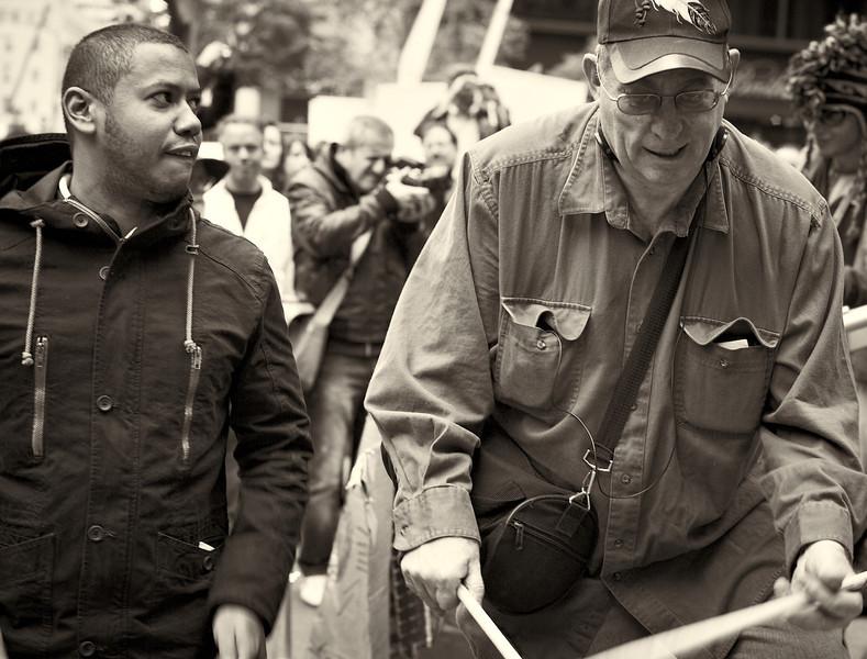 CF009222  #Occupy Wall Street b&w