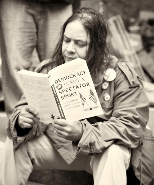CF009229  #Occupy Wall Street b&w