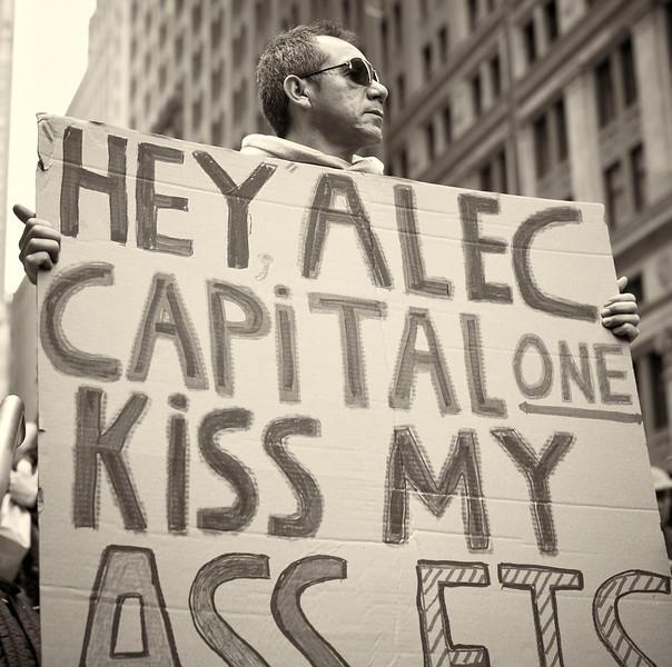 CF009242  #Occupy Wall Street b&w