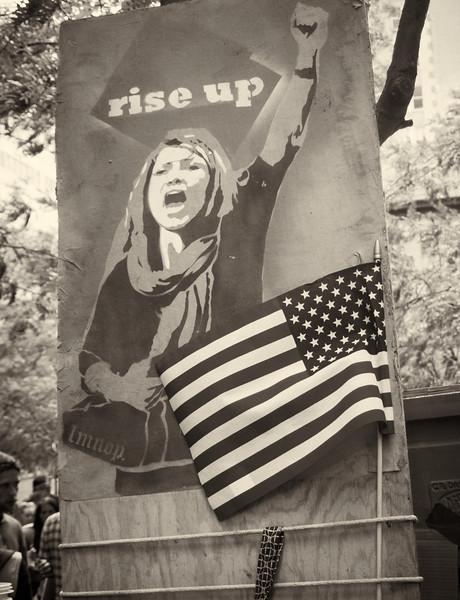 PA152079  #Occupy Wall Street b&w