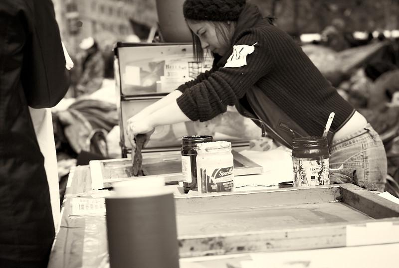 CF009287  #Occupy Wall Street b&w