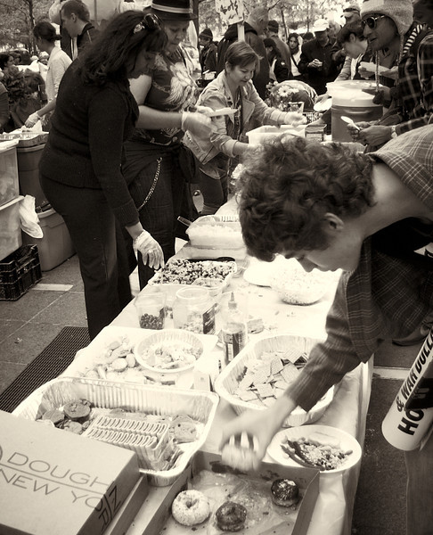 PA152120  #Occupy Wall Street b&w