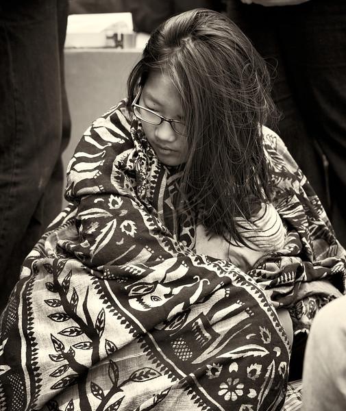 CF009268  #Occupy Wall Street b&w