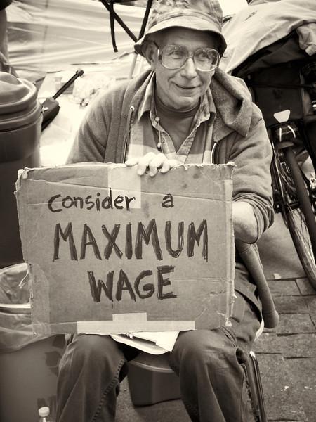 PA172178  #Occupy Wall Street b&w