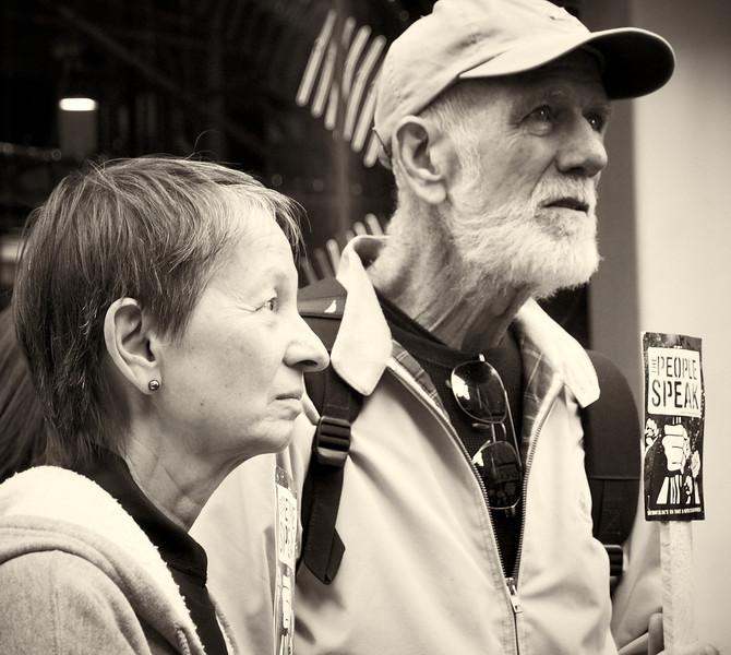 PA152155  #Occupy Wall Street b&w