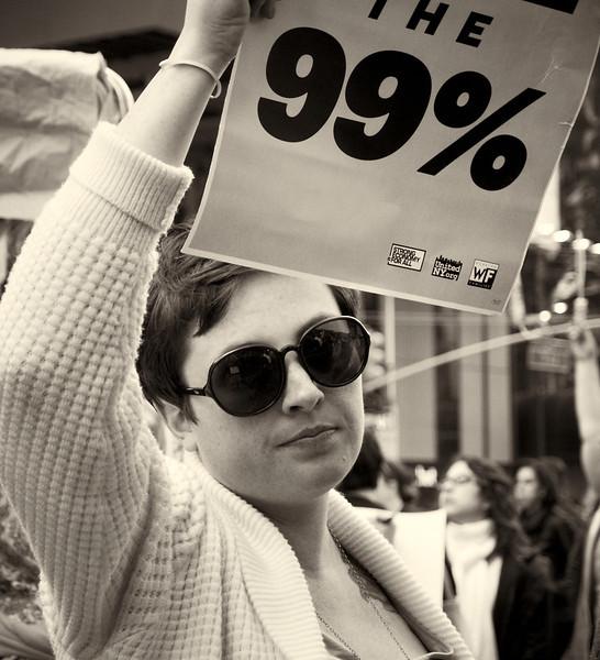PA152156  #Occupy Wall Street b&w