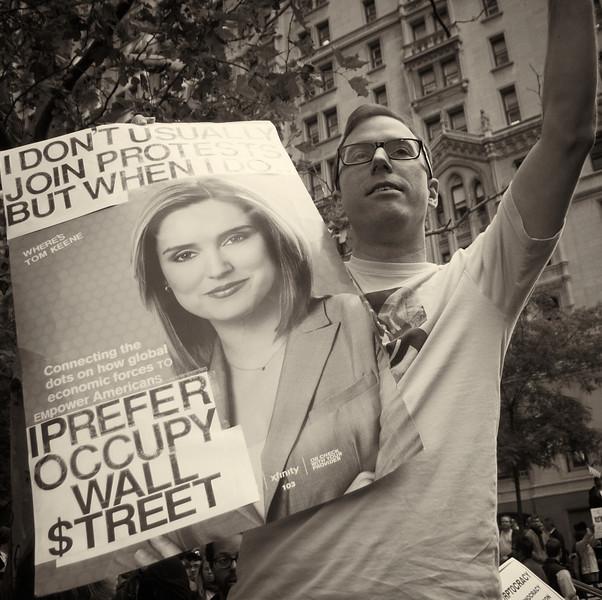 PA152096  #Occupy Wall Street b&w