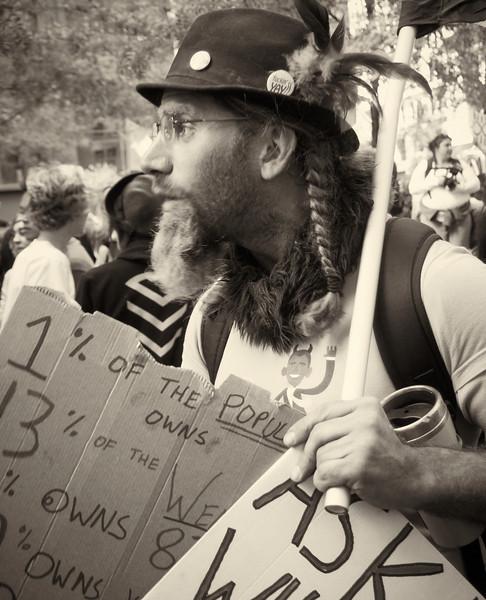 PA152069  #Occupy Wall Street b&w