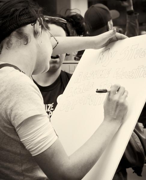 PA152163  #Occupy Wall Street b&w