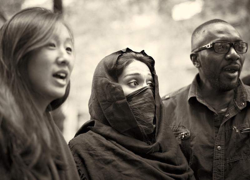 CF009274  #Occupy Wall Street b&w