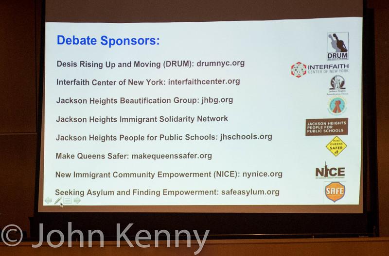 Debate Sponsors