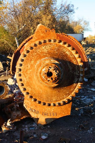 Demolition of Statler Paper Mill in Augusta