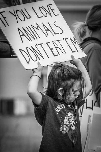 """Children remind us that our choice is really simple. If we love animals, why would we kill them? They remind us of how we once all felt. For many of us, it started with a fishing trip, when we saw hooks in the mouths of gasping fish, and asked, Does that hurt them? Or maybe it was when we connected our steak to a living cow, and wondered, Why do we eat them, since they're so gentle? We begin accepting the lies as true."" <br /> <br /> - Marion Blackburn"