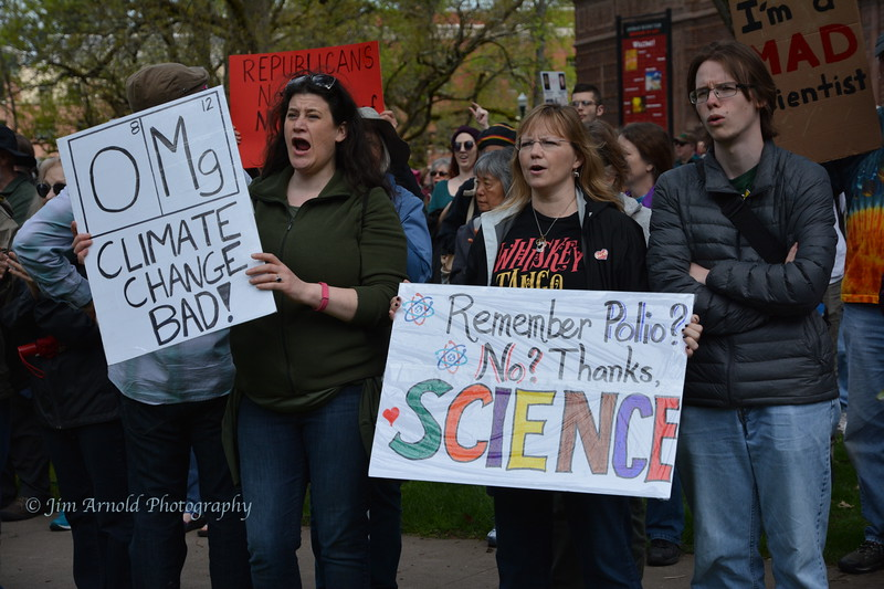 Global March for Science - Earth Day (2017)