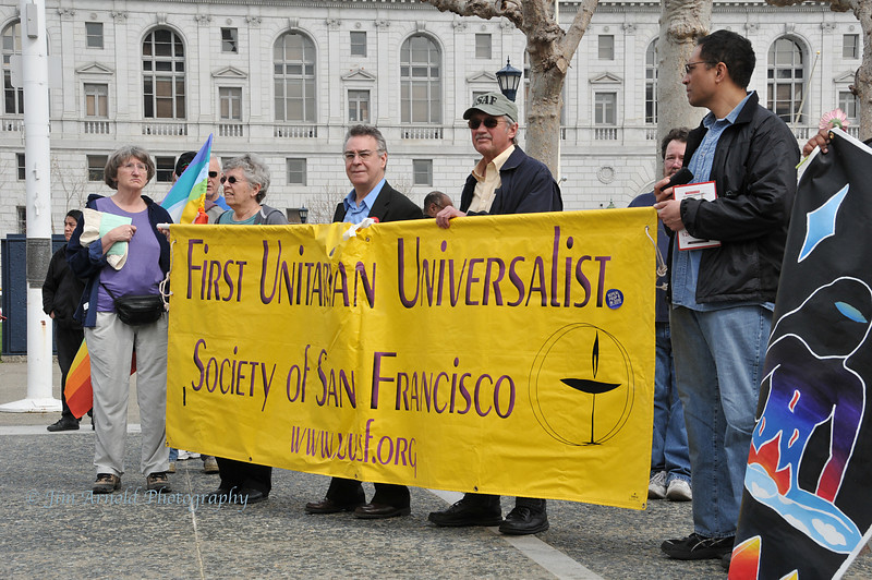 Iraq 7th Anniversary Peace Rally and March - San Francisco