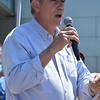 """U.S. Senator Jeff Merkley (D-OR) at """"It's Not Over"""" Healthcare Rally"""