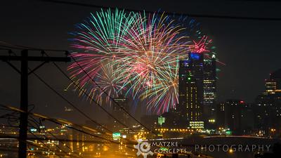 July 4th Fireworks - 2018
