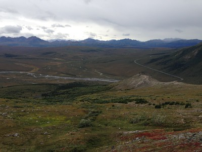 View of park from Savage River alpine trail