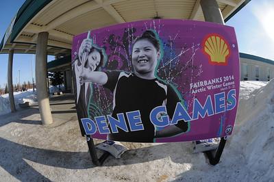 2014 Arctic Winter Games -  Dene Games