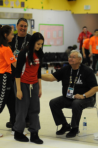 Stick Pull - 2014 Arctic Winter Games -  Dene Games