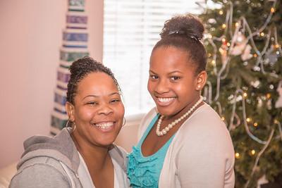 Beautiful daughter and mama.