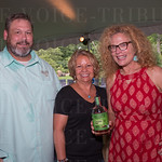 Jeff Stum and Lisa Tuell with Ballotin and Carolne Knop with Simply PR.