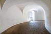 Interior view of the Round Tower in Copenhagen, Denmark.