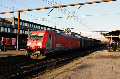 DB, 185 335 (91 86 0185 335-4 DK-DBCSC) at Roskilde on 20th March 2018 (2)