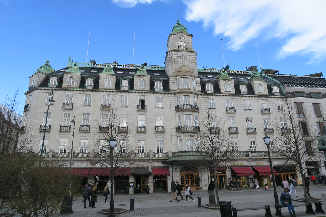 Grand Hotel, Oslo, Norway