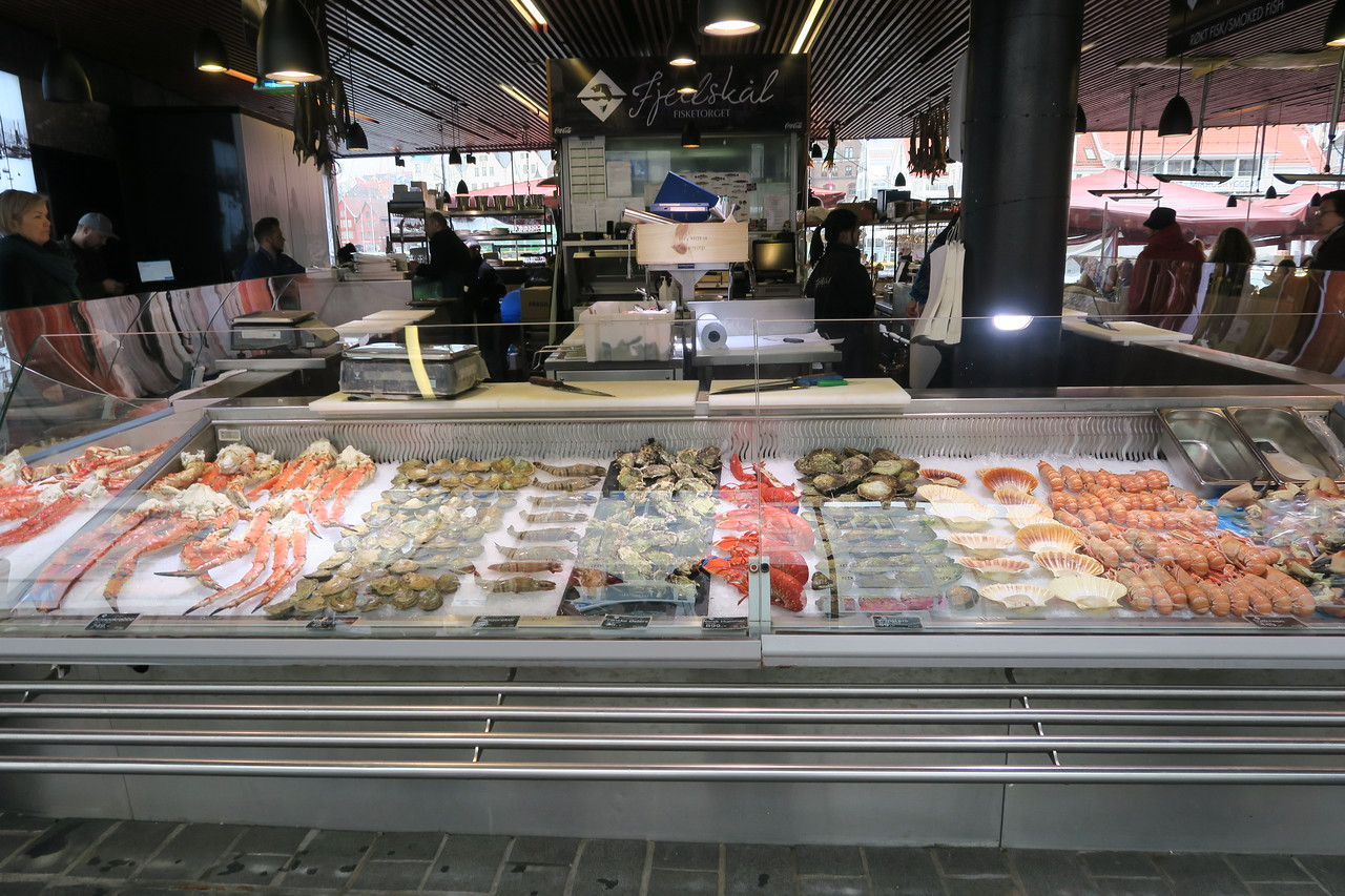 Fishmarket, Bergen, Norway