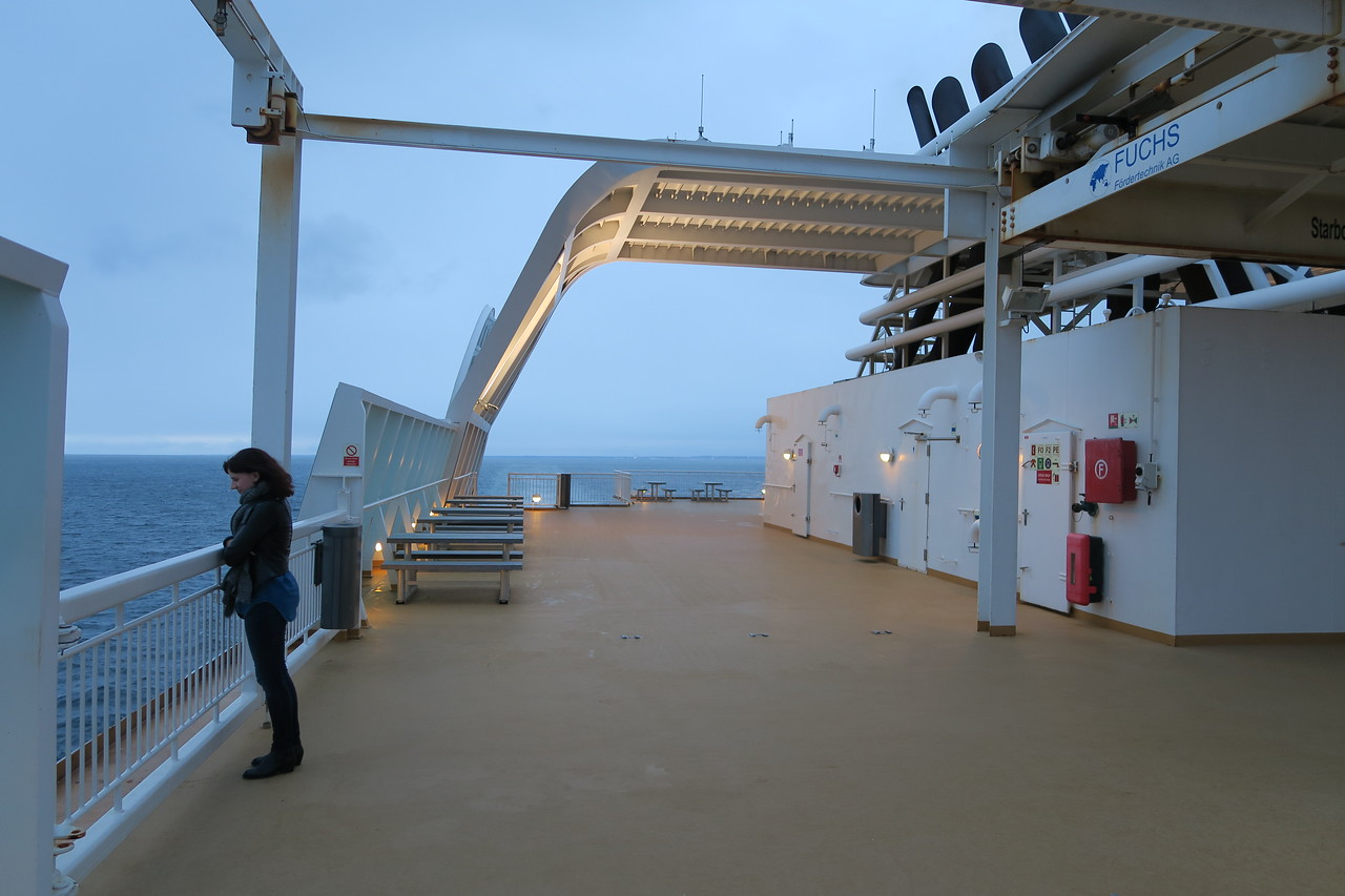 Overnight Ferry from Denmark to Norway