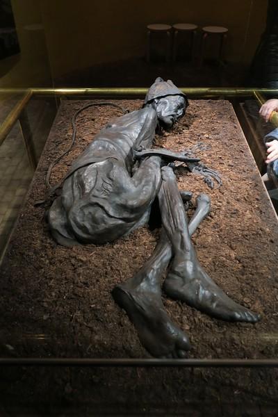 The Tollund Man, Silkeborg Museum, Denmark