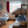 Six bed hostel room I stayed in... Copenhagen is expensive