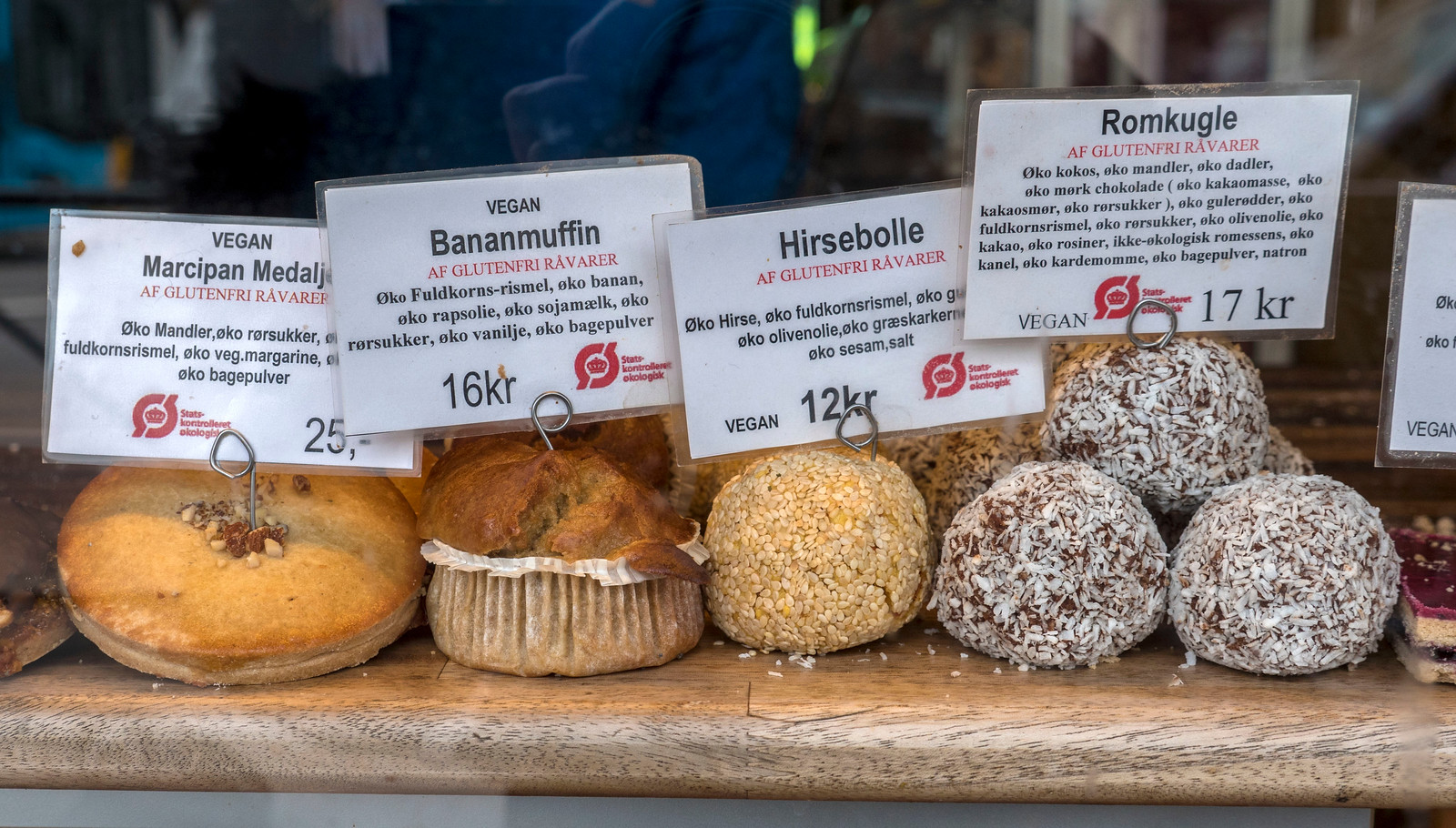 Naturbageriet in Copenhagen - Vegan and gluten-free baked goods