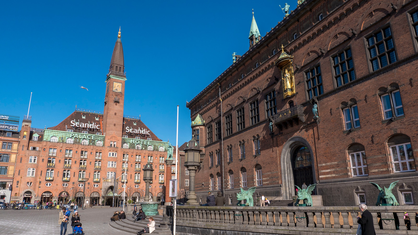 Copenhagen City Hall and City Hall Square - Places to see in Copenhagen