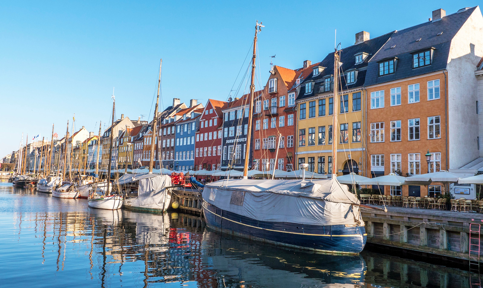 Copenhagen travel guide - Nyhavn - Famous and iconic Copenhagen attraction