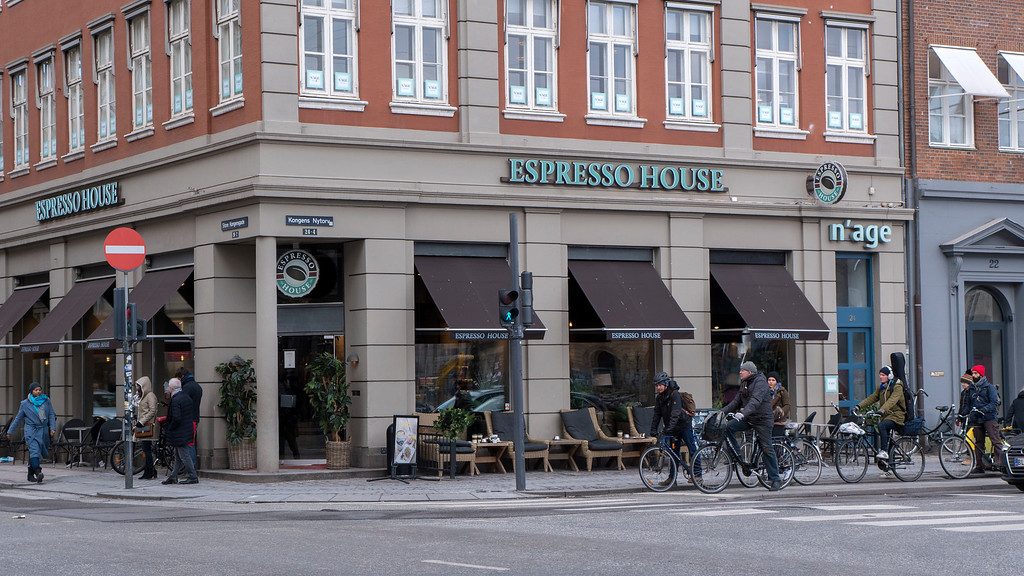Espresso House Coffee Shop in Copenhagen
