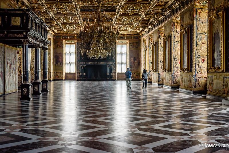 Grand Ballroom in Frederiksborg Castle