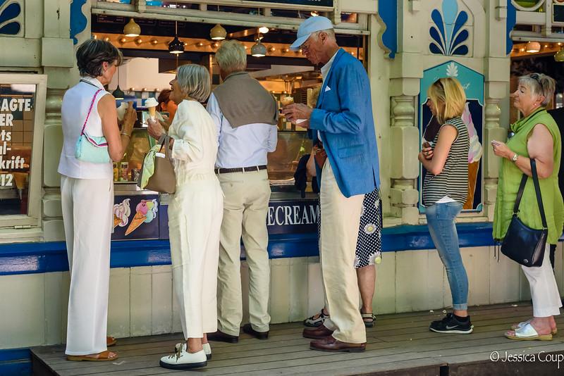 Ice Cream at Tivoli