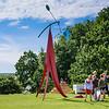 Students Studying Alexander Calder
