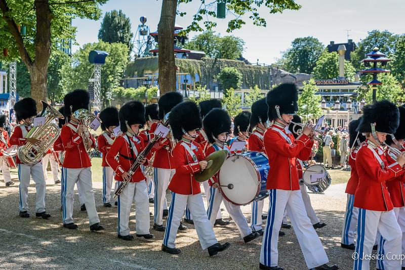Little Marching Band at Tivoli