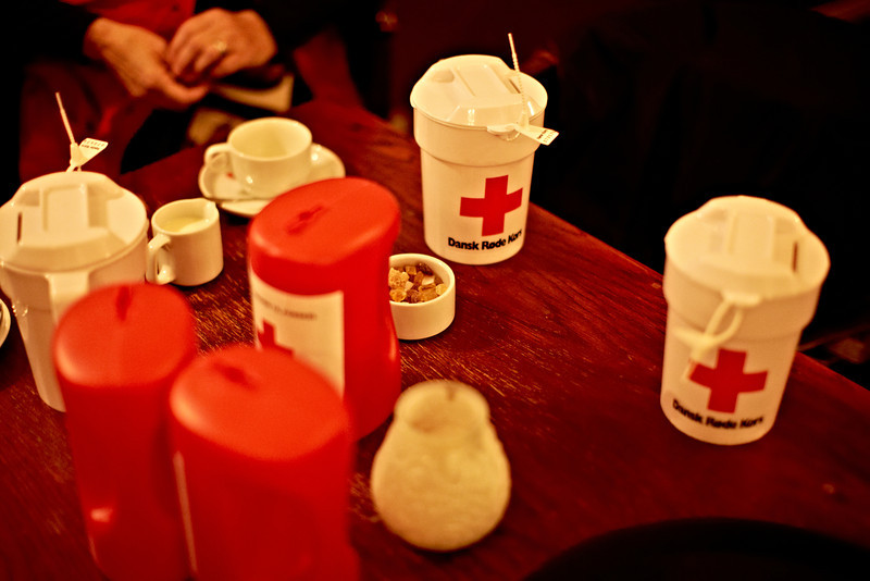 Tonight, Danish Red Cross is collecting contributions for the people in Syria.