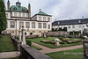 Fredensborg Palace formal garden, Fredensborg, Denmark<br /> <br /> This baroque palace, built in  1720–1726, is the Danish Royal Family's spring and autumn residence, and is often the site of important state visits and events in the Royal Family. It is the most used of the Royal Family's residences.  The gardens are the finest example of a baroque garden in Denmark.