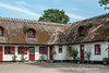 Pretty thatched roof house near Gilleleje, Denmark