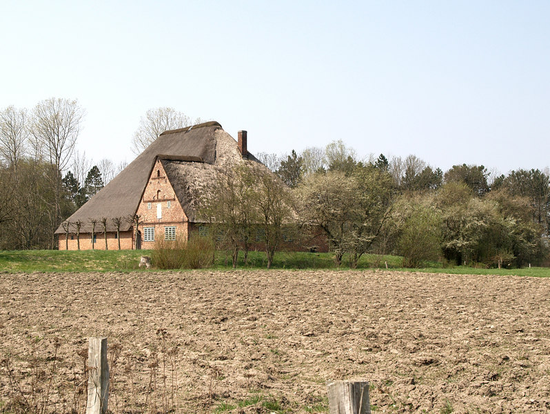 Farmstaed, from Eiderstedt, Schleswig (around Danish - German border). Rebuilt in 1653.